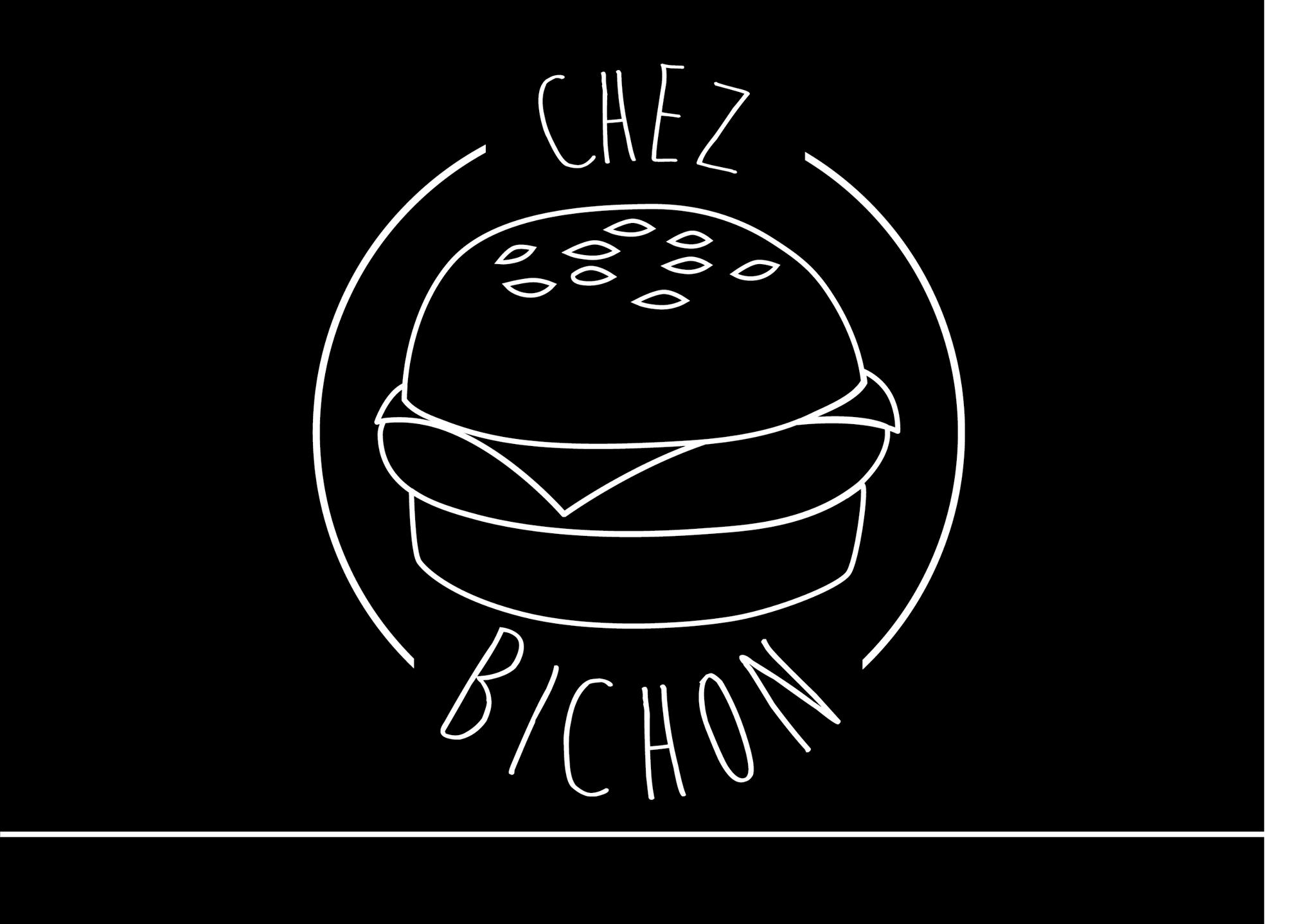 Logo noir blanc Chez Bichon