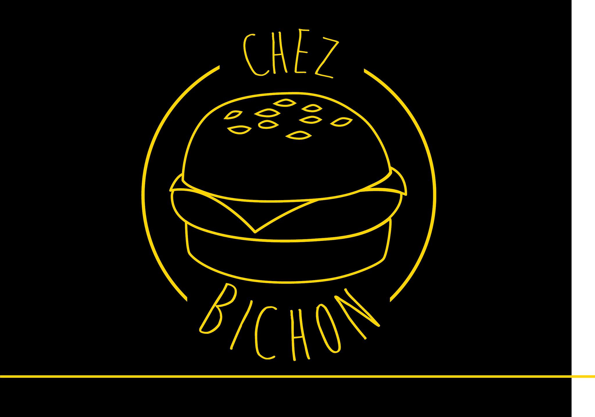 Logo Noir Jaune Chez Bichon